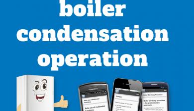 Maximising boiler condensation operation