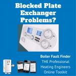 Blocked Plate Exchanger
